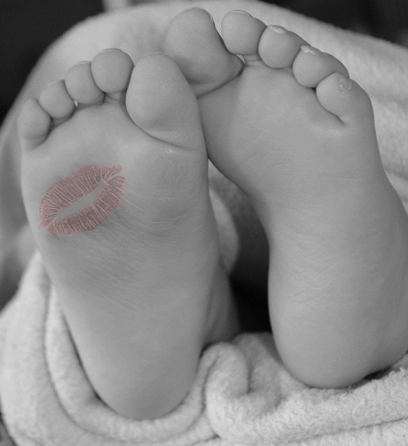 Les pieds  N1610