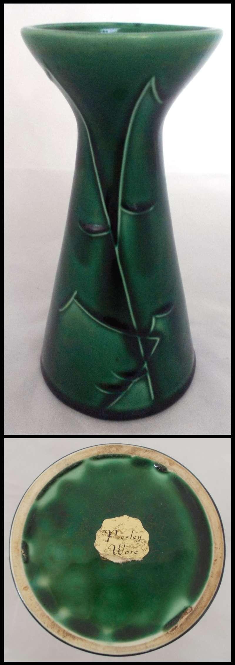 Titian black marble glaze vase for gallery Dscn5428