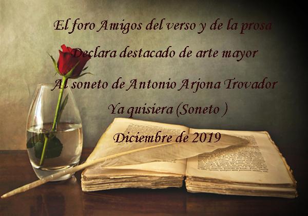 Ya quisiera  (Soneto ) Destac19