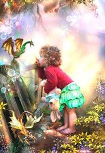 """""""La niña y el dragón""""  Laniya12"""