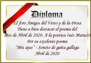 Mis ayes - soneto de gaita gallega Poemas13