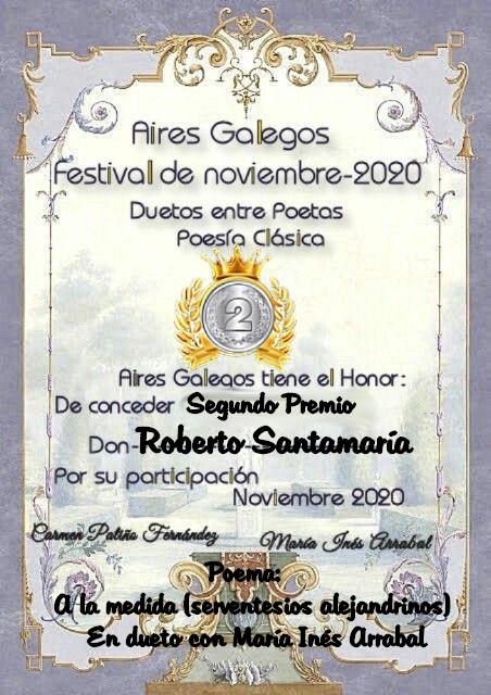 Premios de Roberto Santamaría Segund10