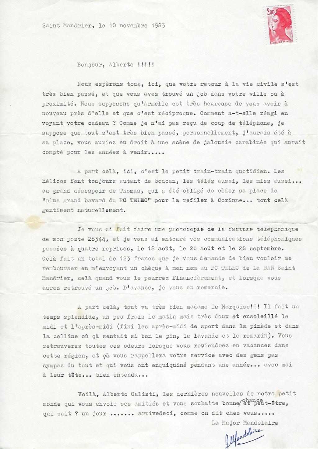 [Les écoles de spécialités] ÉCOLE DES TRANSMISSIONS - ST MANDRIER - Page 8 Lettre10