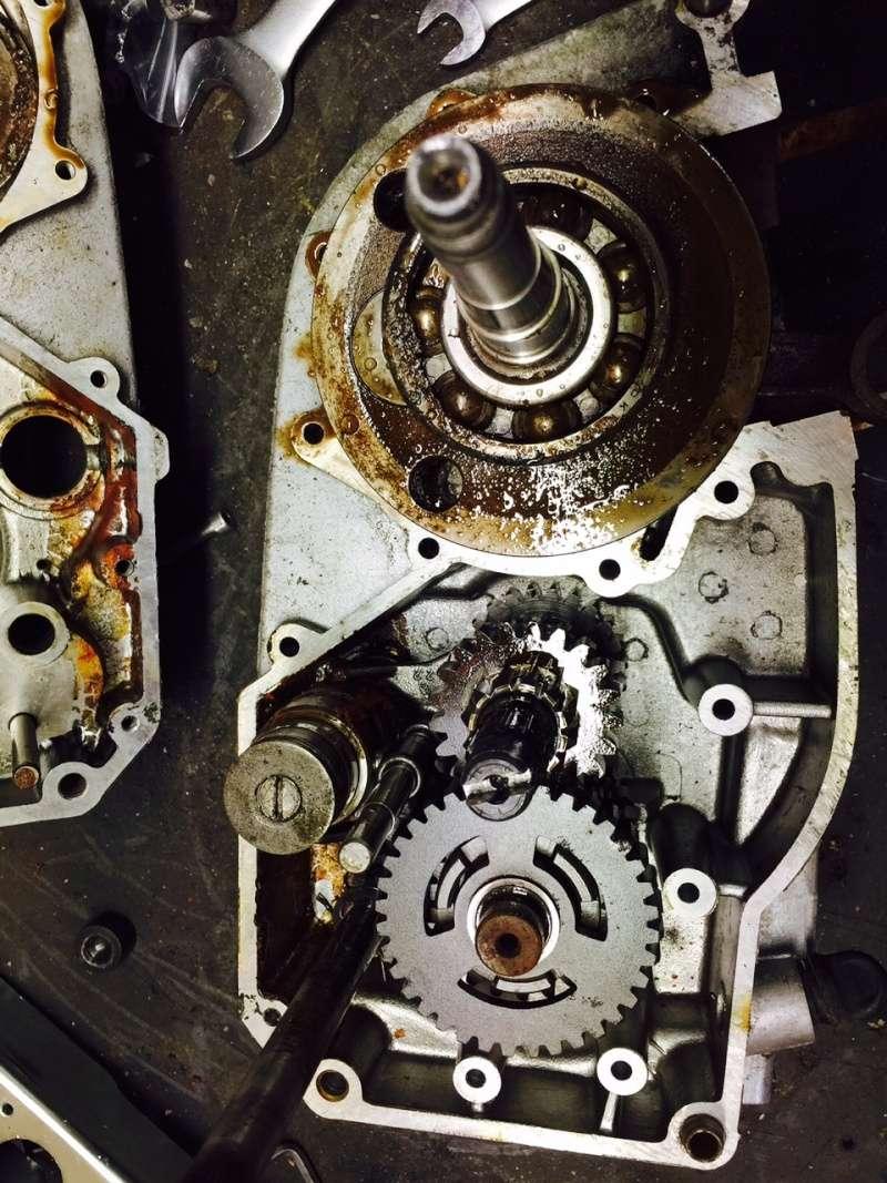opération a coeur ouvert moteur 250 + passage en 300 Moteur11