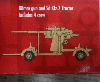 PAK 43 de 88 mm.  1/76--Airfix 20151118