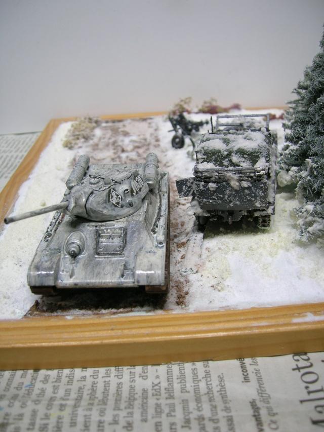 Месть - 43 зим (vengeance - hiver 43) - SdKfz 7 Airfix - Pak 37 + T34/76 Italeri (échelle 1/72) Dscn3626