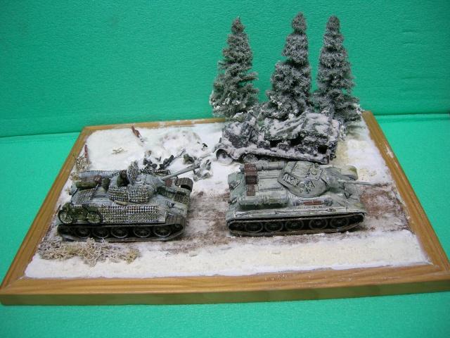 Месть - 43 зим (vengeance - hiver 43) - SdKfz 7 Airfix - Pak 37 + T34/76 Italeri (échelle 1/72) Dscn3826