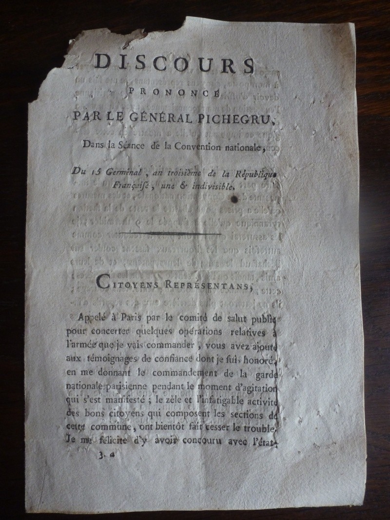 Discours du Général Pichegru du 15 Germinal An III P1140014