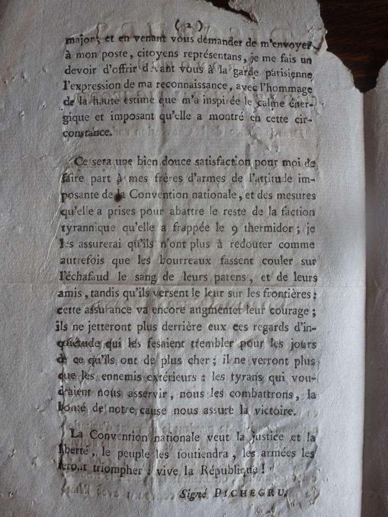 Discours du Général Pichegru du 15 Germinal An III P1140015