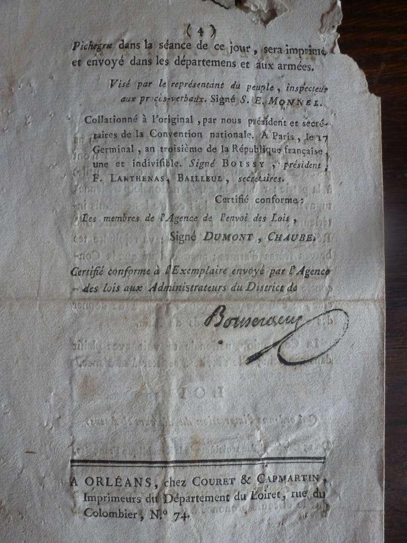 Discours du Général Pichegru du 15 Germinal An III P1140017