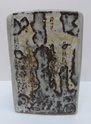 Slab-built stoneware vase Marksp29
