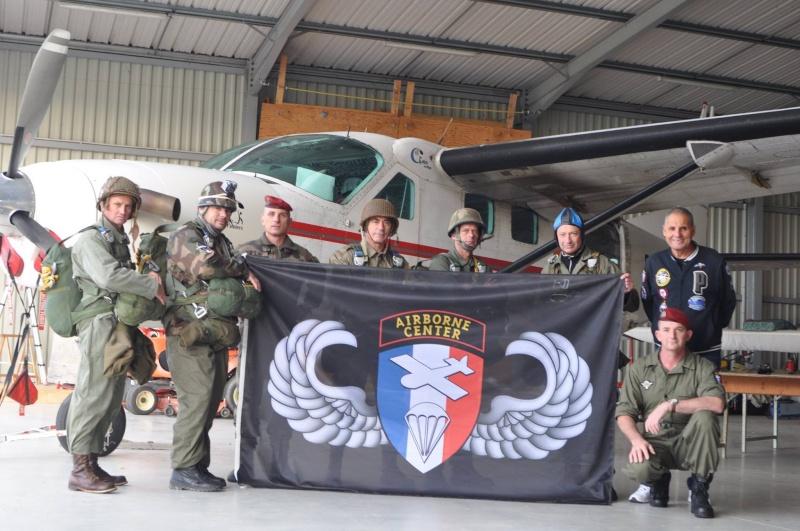 Saut à Pamiers pur quelques anciens avec l'association Airborne Center Airbor11