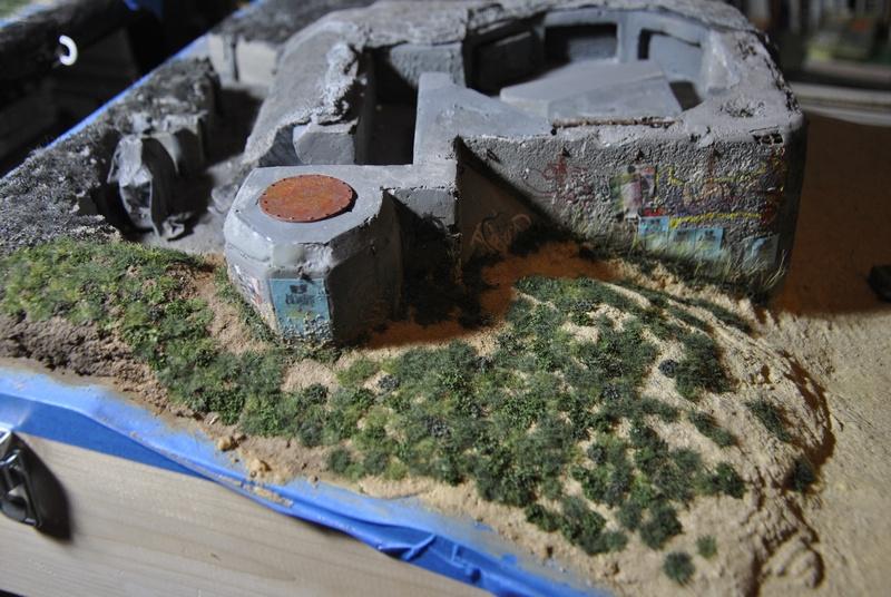 bunker anti-aérien maison au 1/35 Bunker16