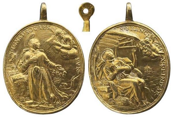 Recopilacion 180 medallas de San Ignacio de Loyola Z82_ig10