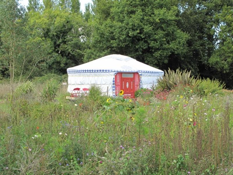"Le camping ""la fontaine du Hallate""  (56) Yourte10"