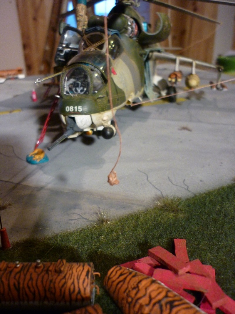 Meeting Tiger meet hélicoptère ; MIL MI 24 HIND E Trumpeter 1/35 et GAZ 66 Eastern Express  -1/35 - Page 2 P1030112
