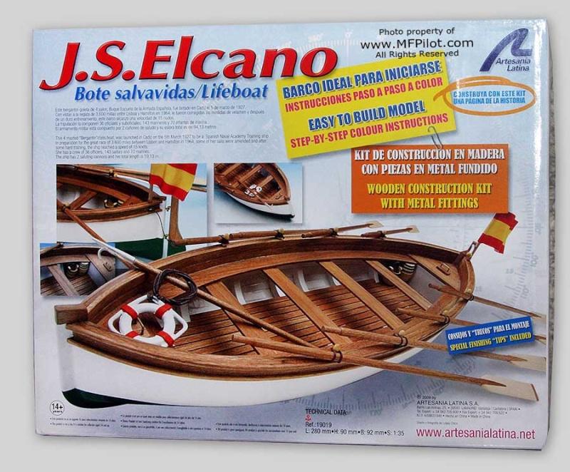 canot du J.S ELCANO 1:35 artesanialatina Artelc12