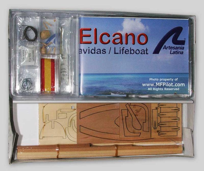 canot du J.S ELCANO 1:35 artesanialatina Artelc13