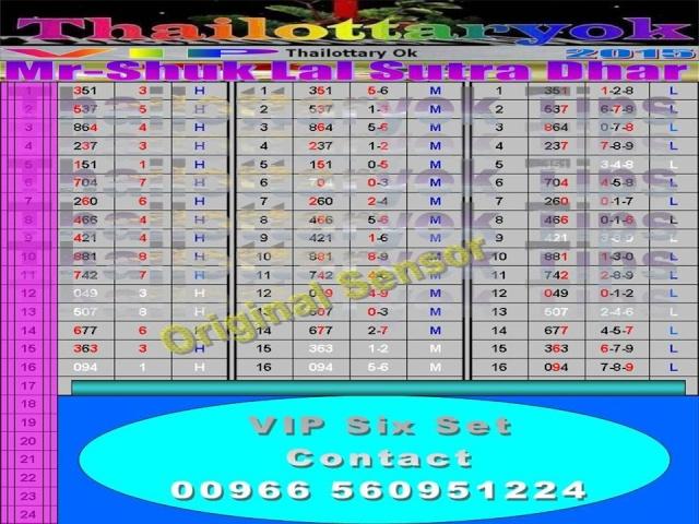 Mr-Shuk Lal 100% Tips 16-09-2015 00000q10