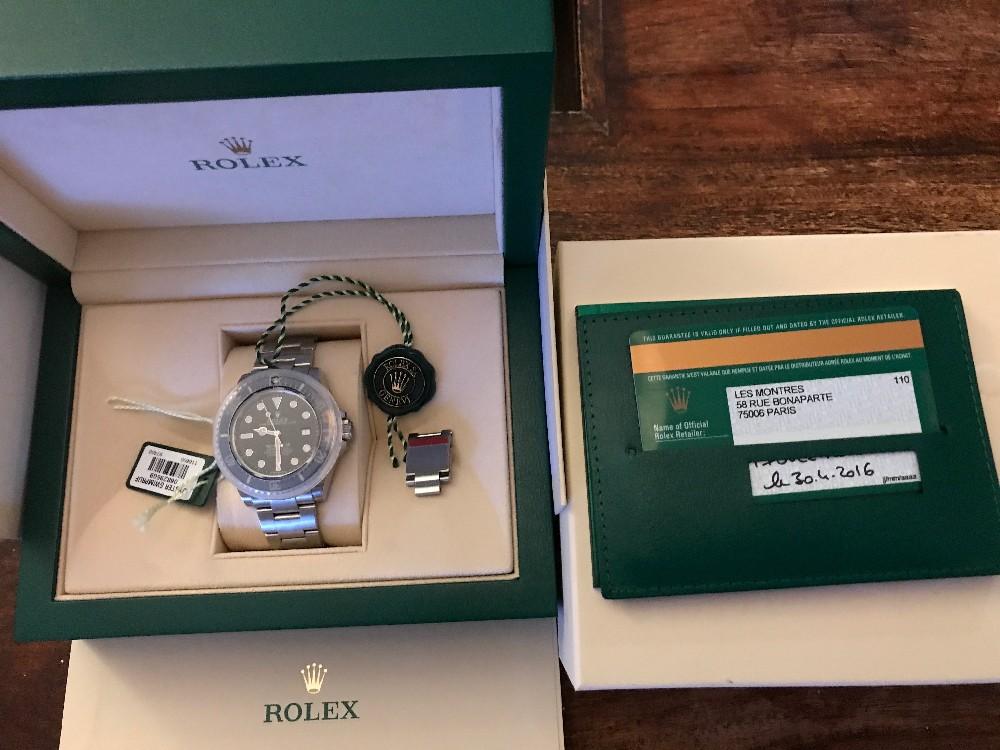 Dweller - [Baisse de prix][Vends] Rolex Sea-dweller sd4000 - 116600 Image210
