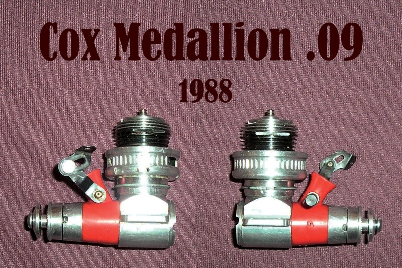 Wanted #2350 Muffler throttle medallion .09 Coxmed10