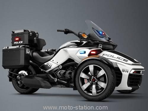 Can-Am Spyder F3-T et F3 Limited 2016 : Le bagger à trois roues Can-am10