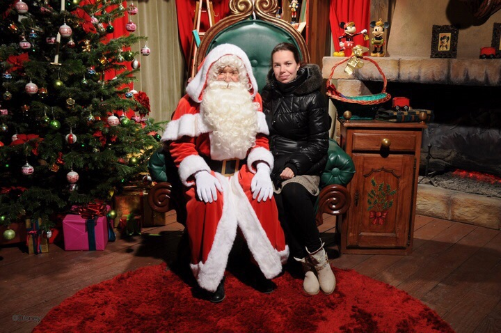 Père Noël à disneyland Image20