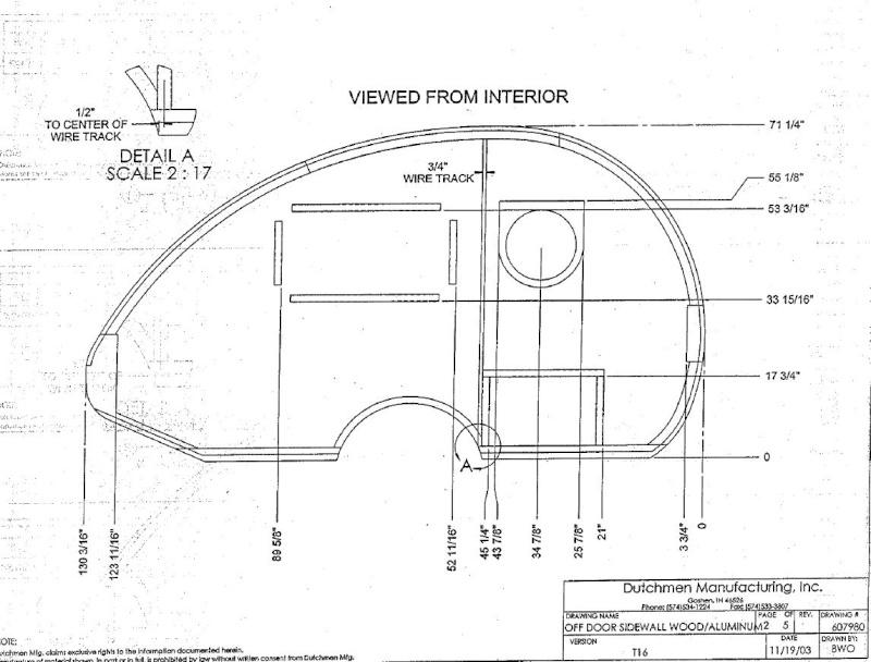 Plan et mesures T@B modèle de Dutchmen Manufacturing Inc. avant 2013 Captur26