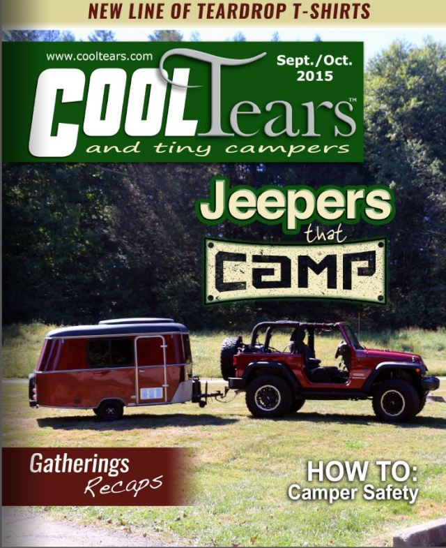Voici le nouveau numéro du magazine Cool Tears and Tiny Campers Captur54