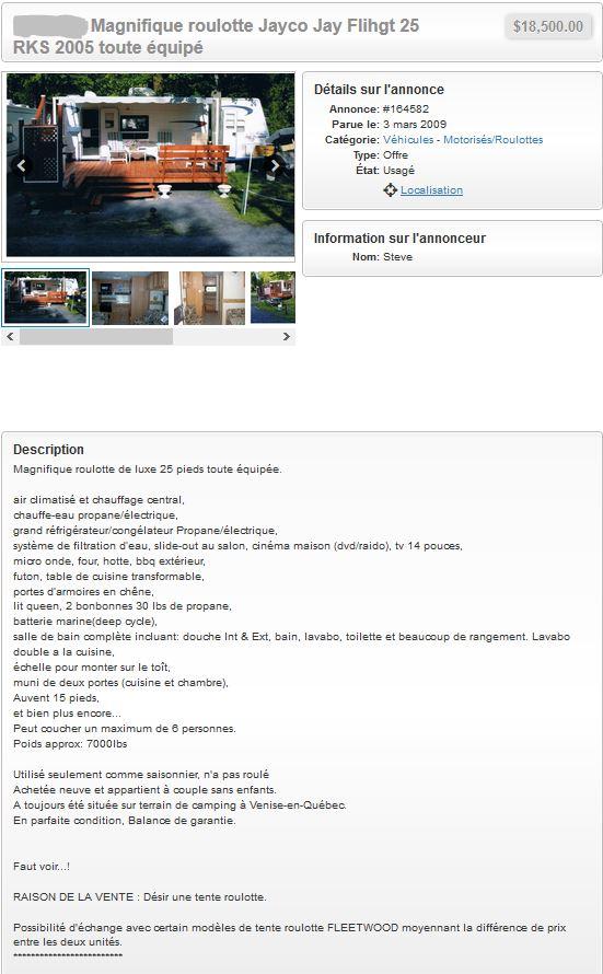 Site de petite annonces Captur63