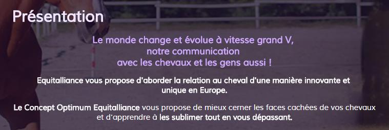 Equitalliance - Comportement équin Equi10