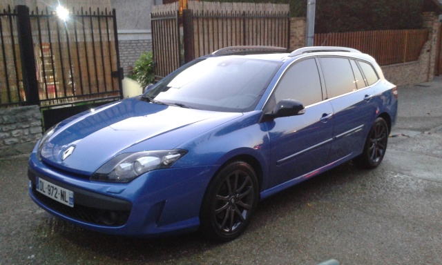 [¤MaX¤] Laguna III.1 Estate GT DCI 180cv 4control Bleue Malte - Page 2 Laguna15