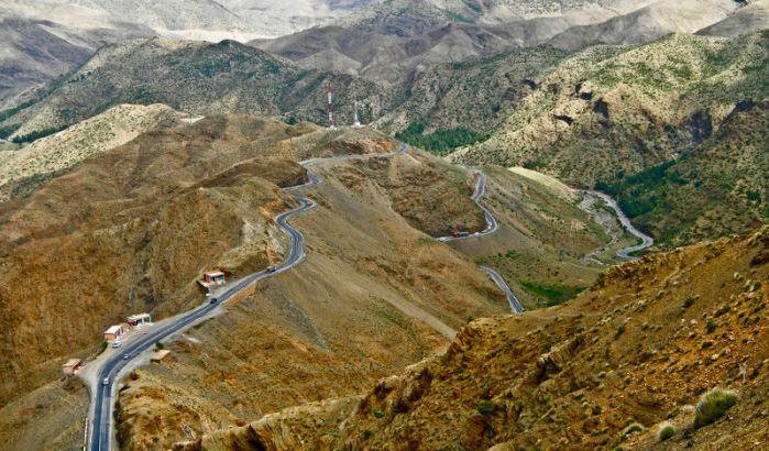 desenclavement de tamazirte ,Les Routes de l'Atlas Marocain Tichka10