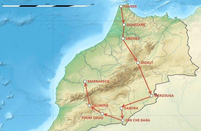 NIVARAID! Raid 4x4 100% Lada Niva  Maroc 2016 Parcou10