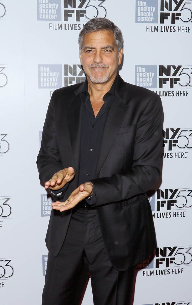 George Clooney at the New York Film Festival anniversary screening of O BROTHER, WHERE ART THOU 29th September 2015 2210
