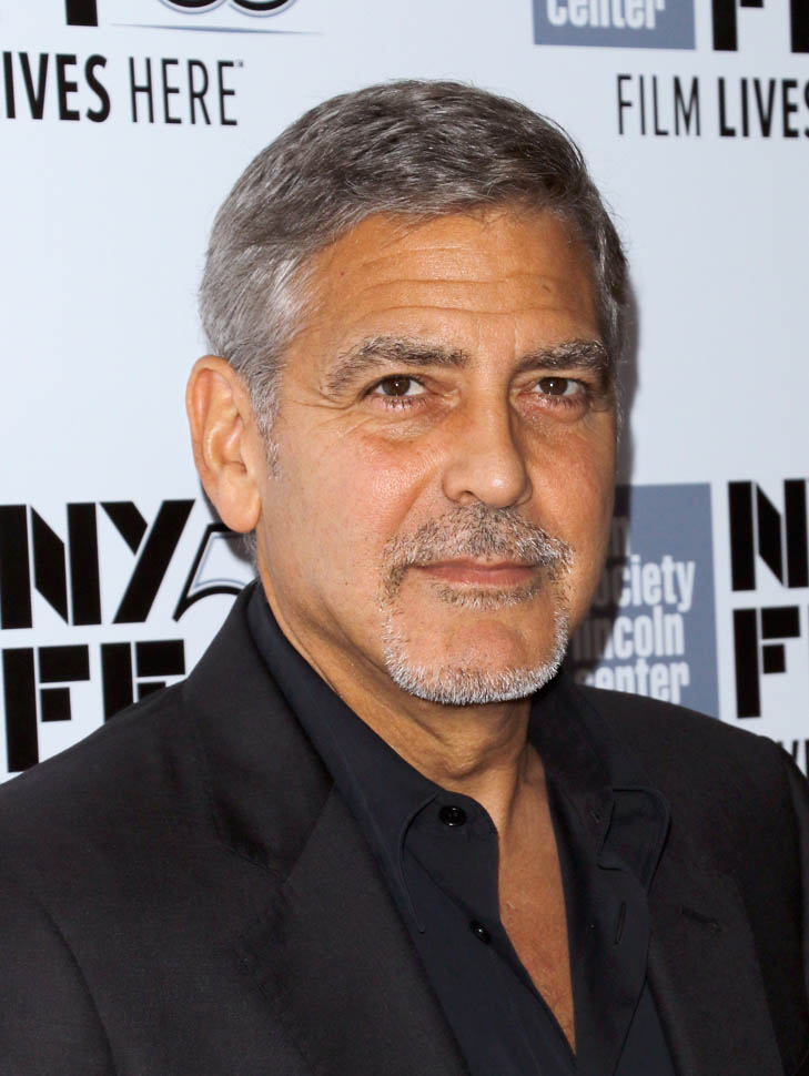 George Clooney at the New York Film Festival anniversary screening of O BROTHER, WHERE ART THOU 29th September 2015 22a10