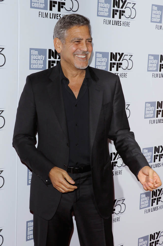 George Clooney at the New York Film Festival anniversary screening of O BROTHER, WHERE ART THOU 29th September 2015 22b10