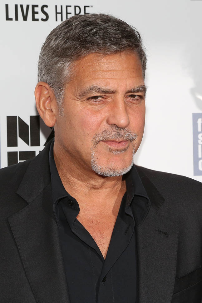 George Clooney at the New York Film Festival anniversary screening of O BROTHER, WHERE ART THOU 29th September 2015 22c10