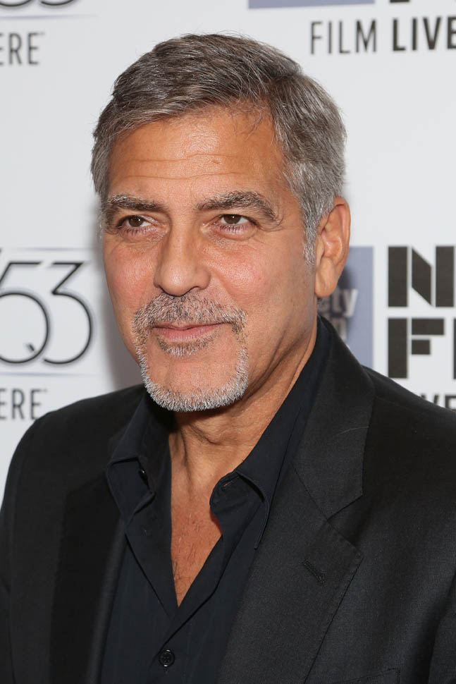 George Clooney at the New York Film Festival anniversary screening of O BROTHER, WHERE ART THOU 29th September 2015 22e10