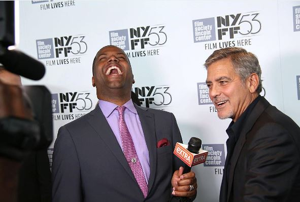George Clooney at the New York Film Festival anniversary screening of O BROTHER, WHERE ART THOU 29th September 2015 3310