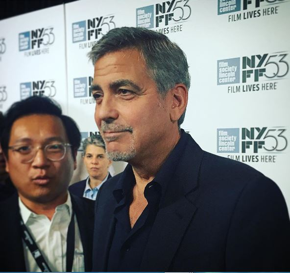 George Clooney at the New York Film Festival anniversary screening of O BROTHER, WHERE ART THOU 29th September 2015 44a10
