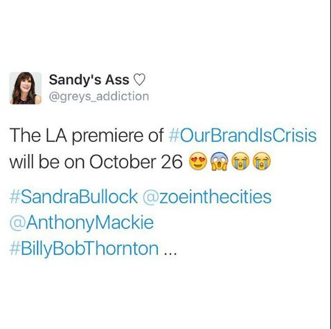 L A Premiere Our Brand is Crisis October 26, 2015 Aa610