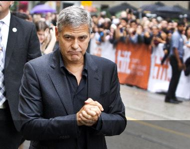 George Clooney at Toronto film festival 11th September 2015 Aaa10