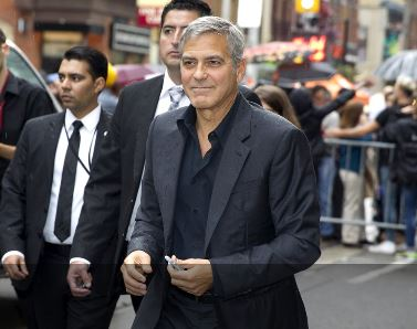 George Clooney at Toronto film festival 11th September 2015 Aaa210