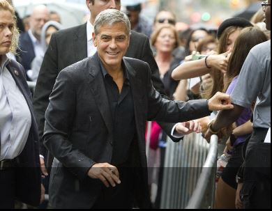 George Clooney at Toronto film festival 11th September 2015 Aaa310