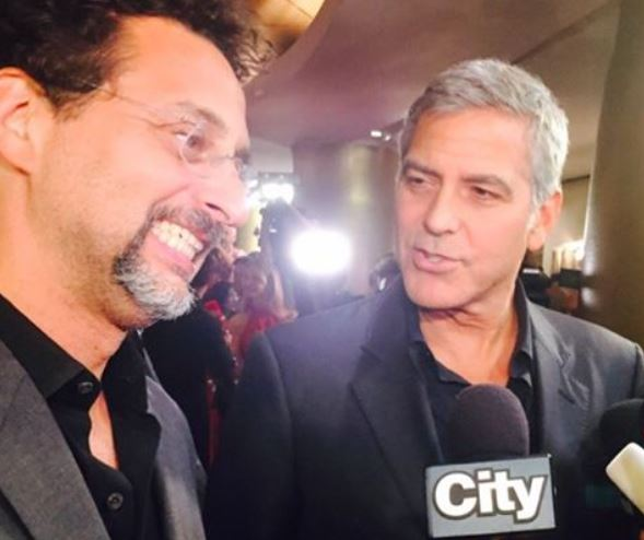 George Clooney at Toronto film festival 11th September 2015 Bbb10
