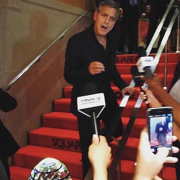 George Clooney at Toronto film festival 11th September 2015 Bbb310