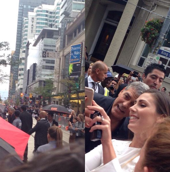 George Clooney at Toronto film festival 11th September 2015 Bbb410