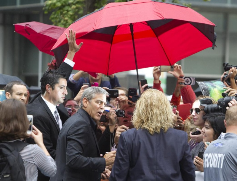 George Clooney at Toronto film festival 11th September 2015 Cc1110