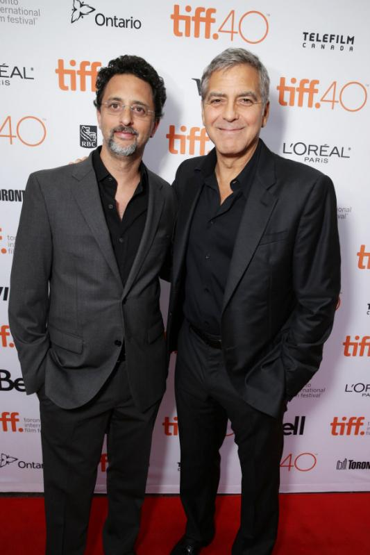 George Clooney at Toronto film festival 11th September 2015 Cc1210